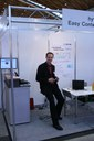 Fritz at our joined booth with link-lab at the Learntec 2007