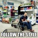 Follow the style
