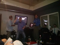 Raphael Hiesgen wins second place of IEEE ICCE-Berlin's Karaoke Night Competition